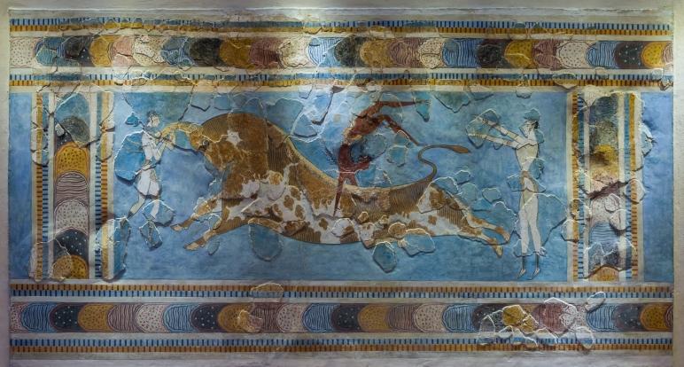 Minoan Bull Leaper